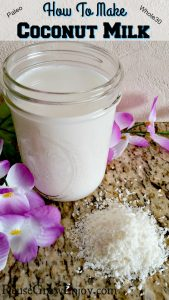 How To Make Coconut Milk –  It Is Paleo & Whole30!