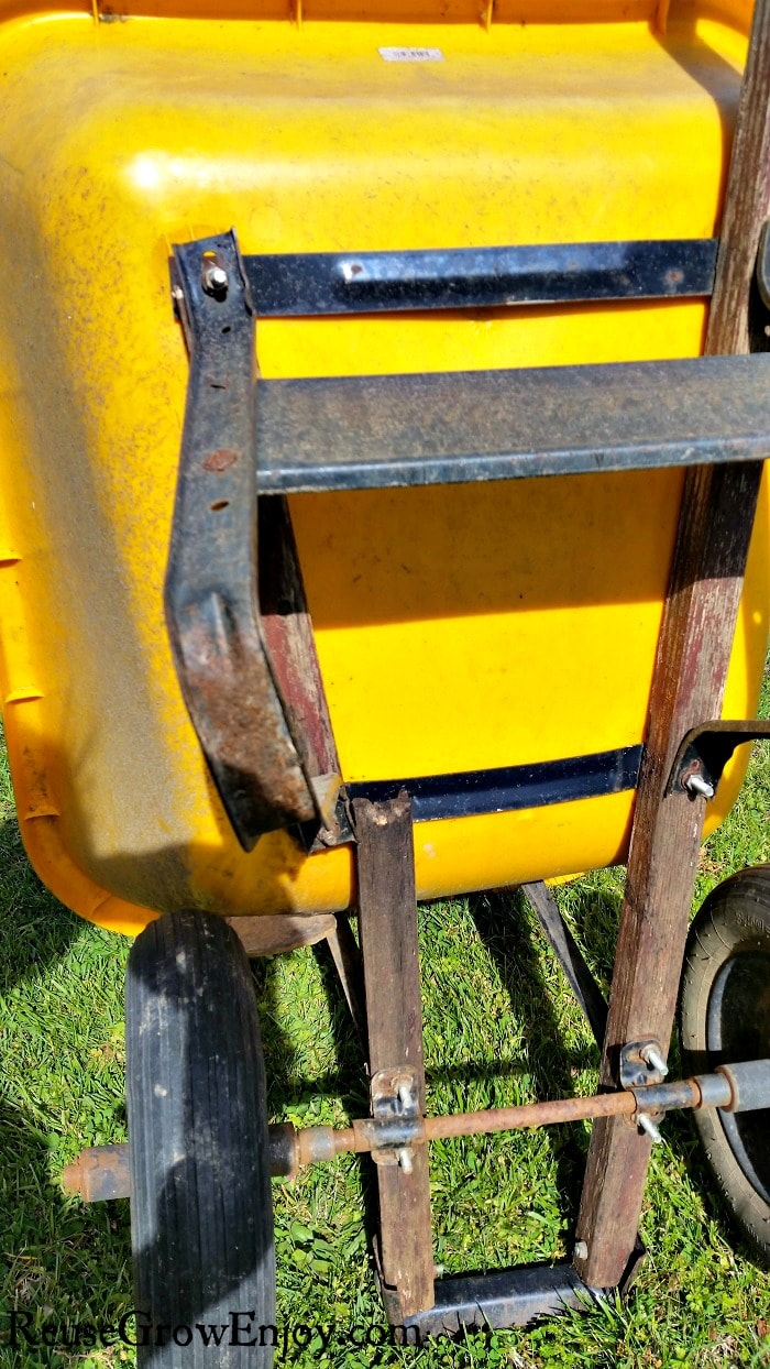 Do you have an old wheelbarrow that is falling apart but don't want to spend big bucks on a new one? I am going to show you How To Repair Old Wheelbarrow Handles & Other Issues!