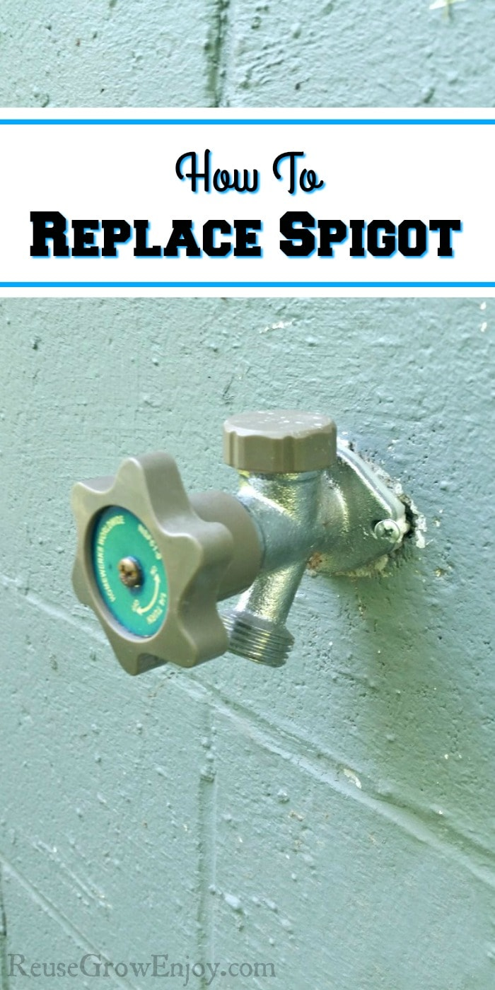 Have a busted spigot? Maybe it cracked from freezing in the winter? I am going to show you how to replace spigot. Do your own repair and save!