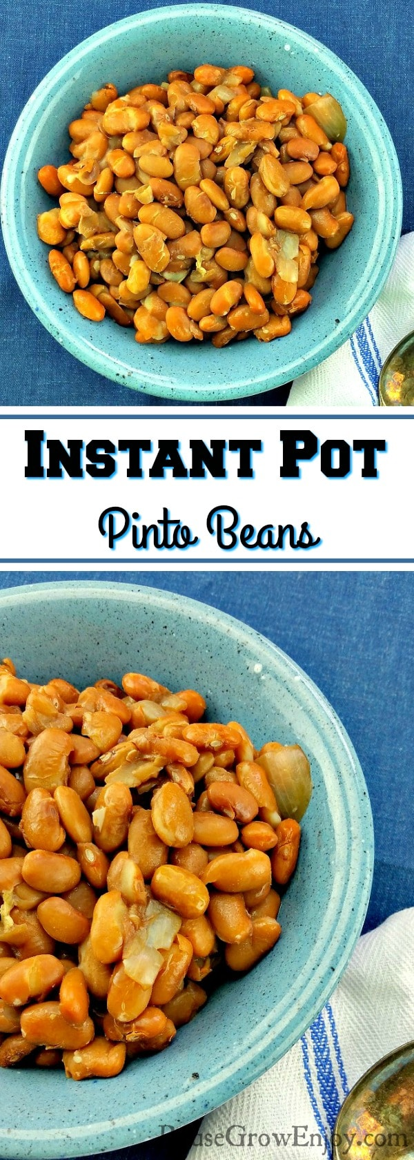 Making beans in the Instant Pot is life changing, it really is so much easier! Check out this best ever Instant Pot Pinto Beans Recipe!
