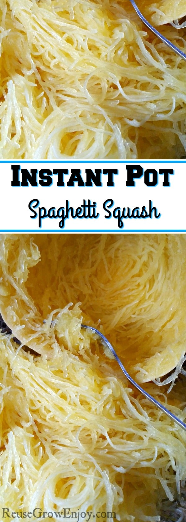If you like Spaghetti Squash, you have to try this. You can make Instant Pot Spaghetti Squash in about 10 minutes!