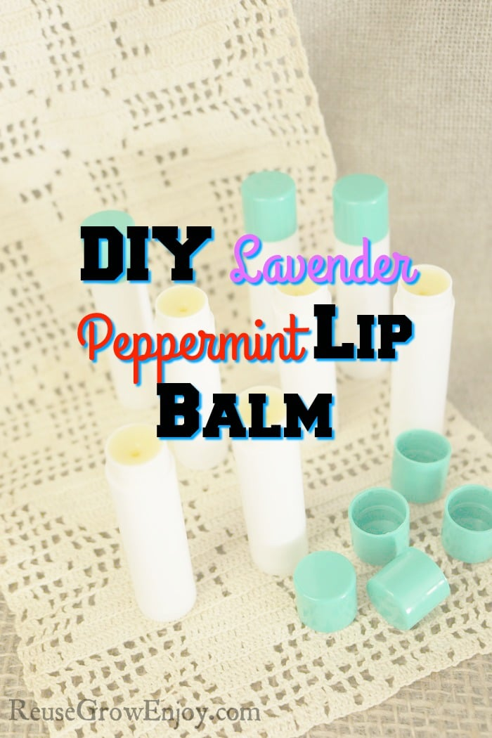 Nothing like making your own peppermint lip balm! Check out this easy DIY with a twist. It also has lavender oil in it too!