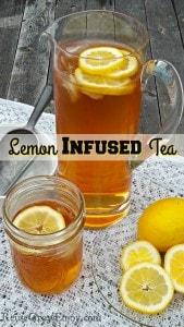 Lemon Infused Tea