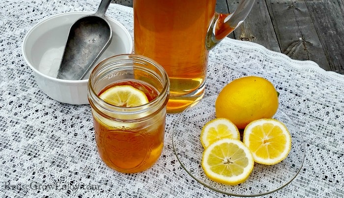 Lemon Infused Tea