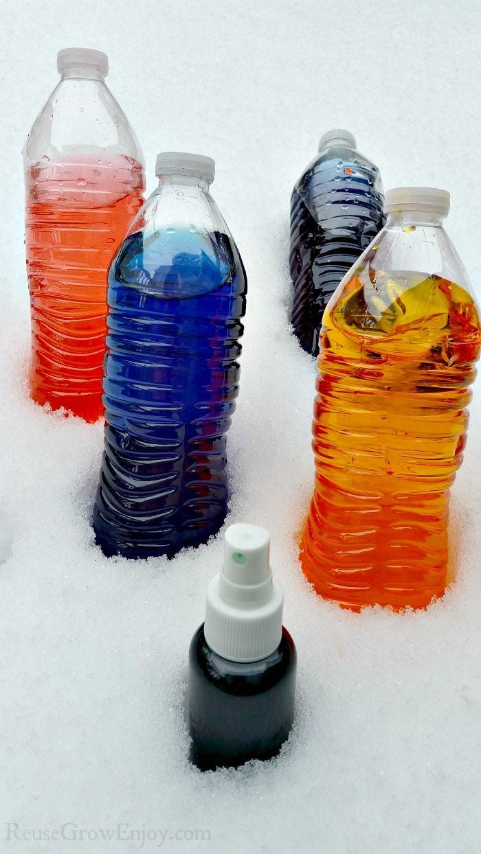 DIY Easy Snow Paint & Tips On How To Paint Snow - Reuse Grow