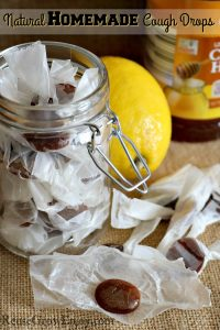 Natural Homemade Cough Drops