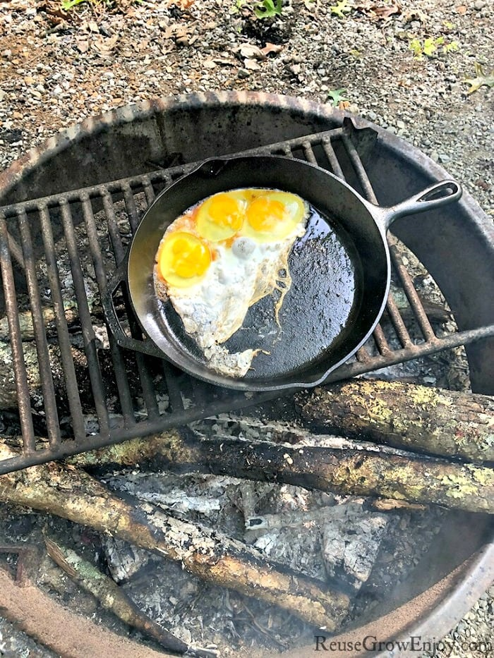 Thinking about going camping but not sure how to do over fire cooking? I am going to share some Camp Cooking Hacks On Over The Fire Cooking that might help!