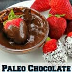 If you are eating Paleo and looking for a new treat to try, you will fall in love with this recipe. It is Paleo chocolate covered strawberries with coconut!