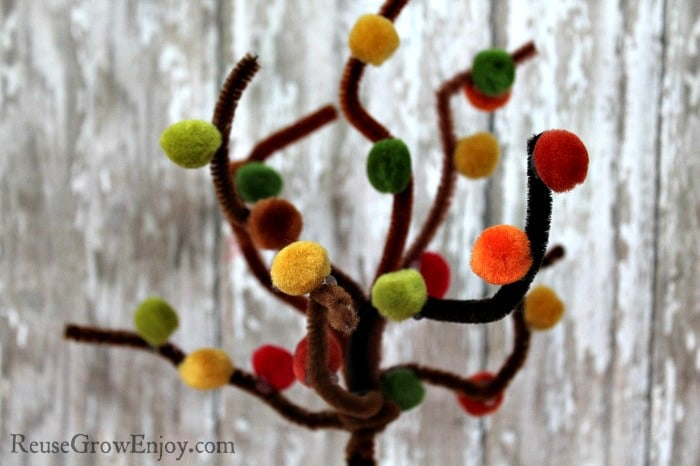 Poms On Tree