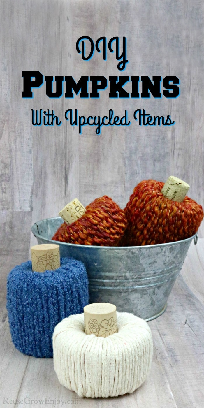 pool noodle craft Decor pumpkins with text overlay