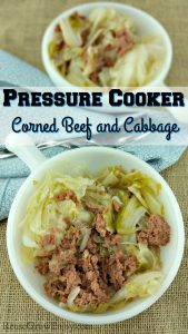 Looking for a good and easy corned beef and cabbage recipe? Check out my Pressure Cooker Corned Beef and Cabbage Recipe! It is super easy to make and oh so good!