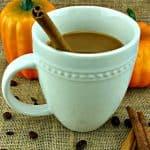 Homemade Pumpkin Pie Coffee - Dairy Free