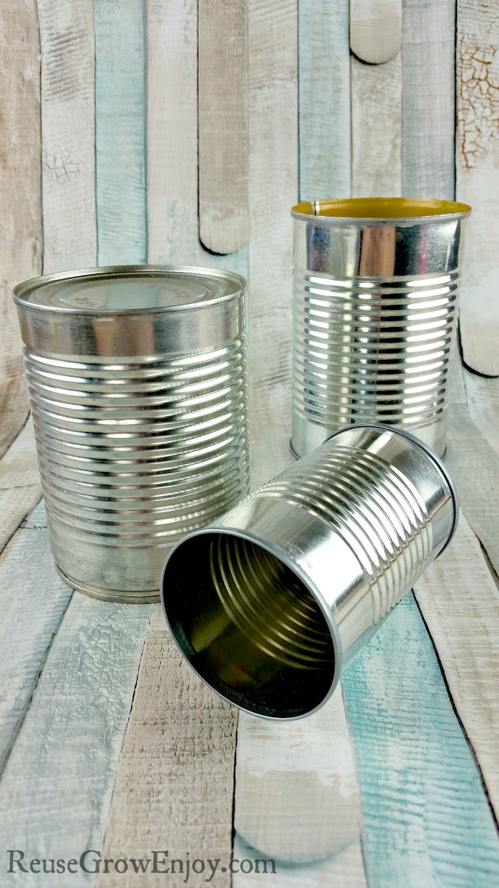 Your average can has many other uses well after we first open them. I am going to share a few ideas on how to reuse a tin can and keep it out of the trash.