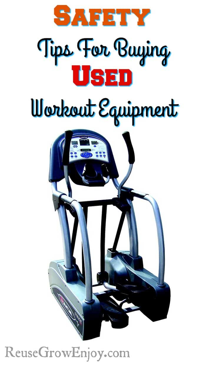 Used workout equipment can be a gamble, but when you are working toward a health goal on a budget it is a great idea. Since it is something many are looking for when starting out the new year, these tips for how to find safe used workout equipment will come in handy.