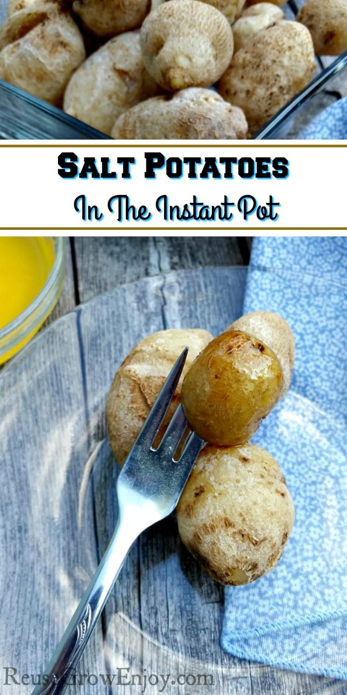 Been up north say around the Syracuse NY area? You may have heard of salt potatoes! I'm going to show you how to make salt potatoes in the Instant Pot!