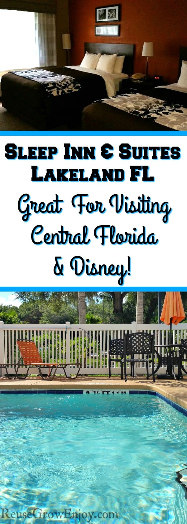 Sleep Inn & Suites Lakeland Florida | Great Place & Price For Visiting Central Florida Attractions Like Disney World!