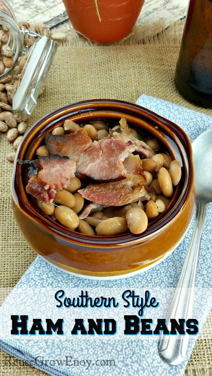 Southern Style Ham and Beans Recipe