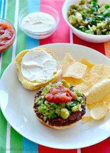 Southwest Black Bean Burger Recipe