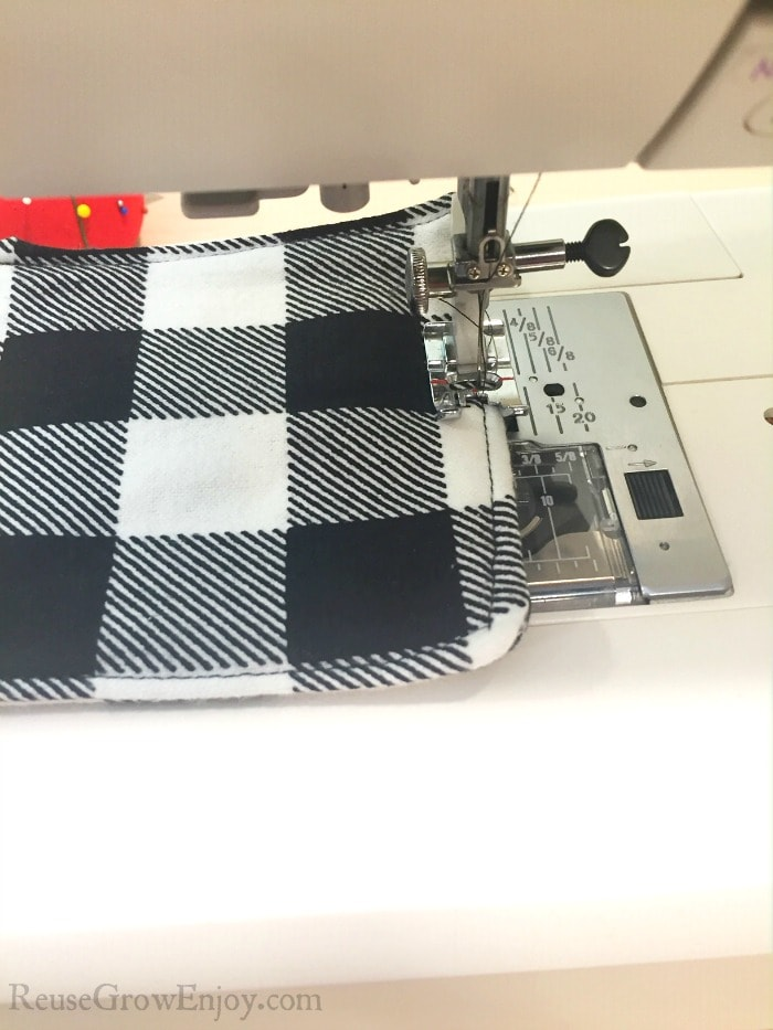 Flip inside right and stitch closed