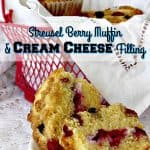 Have a lot of berries? This is a must try recipe! Super yummy and easy to make. It is a Streusel Berry Muffin With Cream Cheese Filling Recipe.
