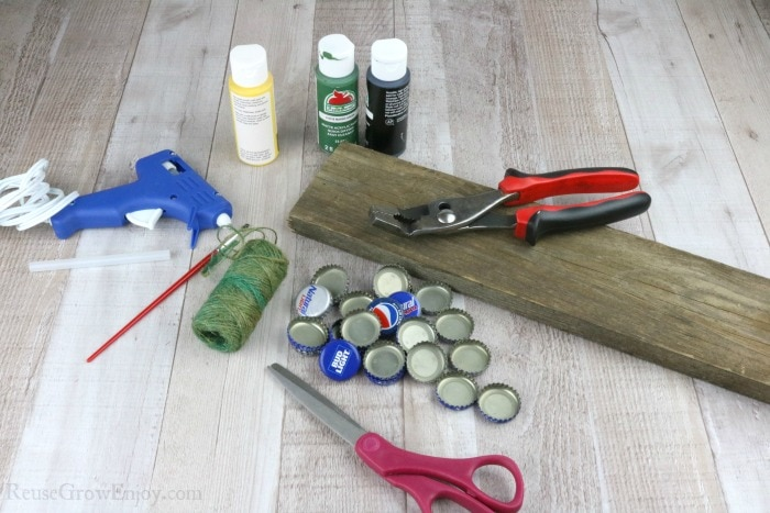 Supplies need for this craft