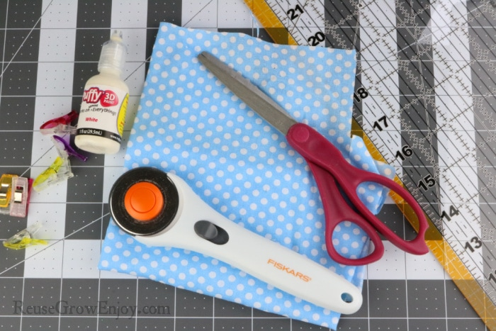Supplies need to make these tags