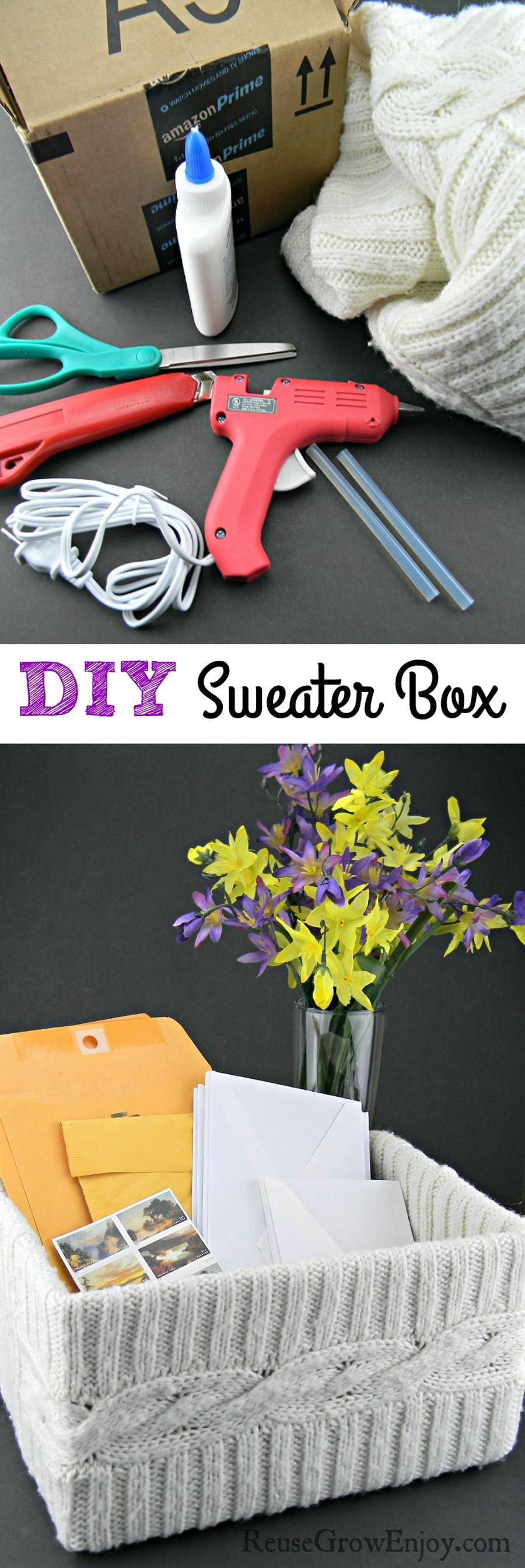 Sweater Box DIY