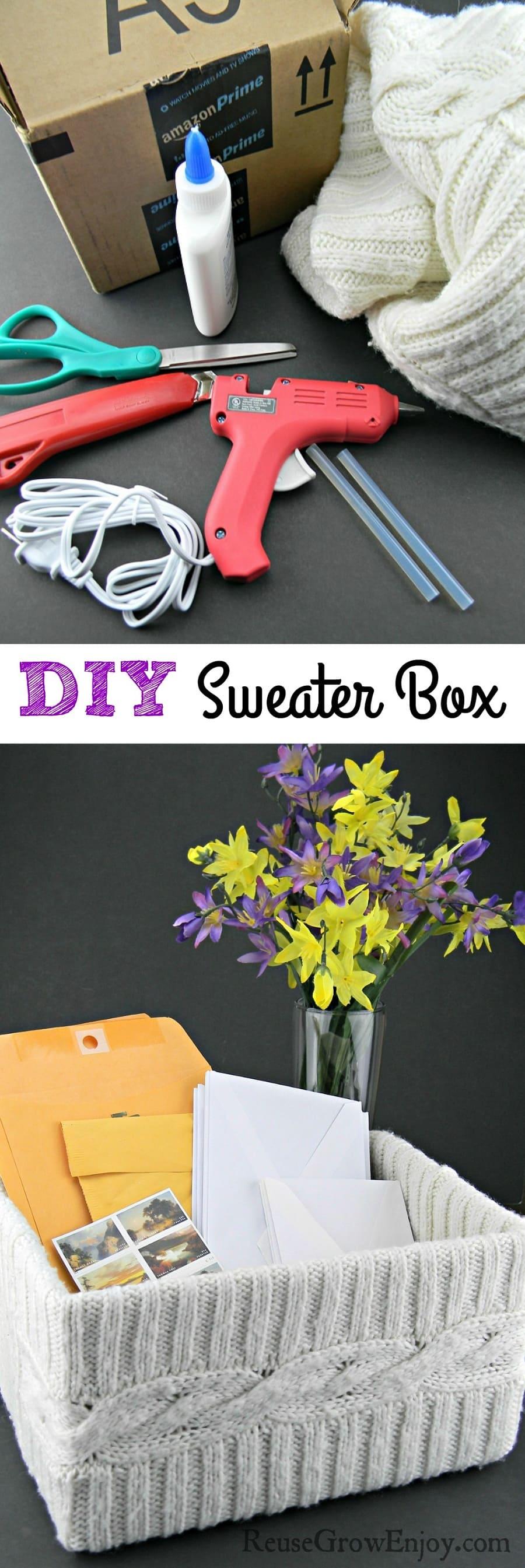 Sweater Box DIY