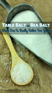Table Salt vs Sea Salt – Which One Is Really Better For You?