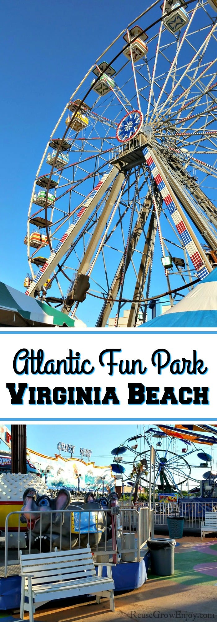 If you are headed to Virginia Beach with a family, you may want to add the Atlantic Fun Park to the visit list. It is a small park but packs a punch with what they have to offer from rides, games and foods!