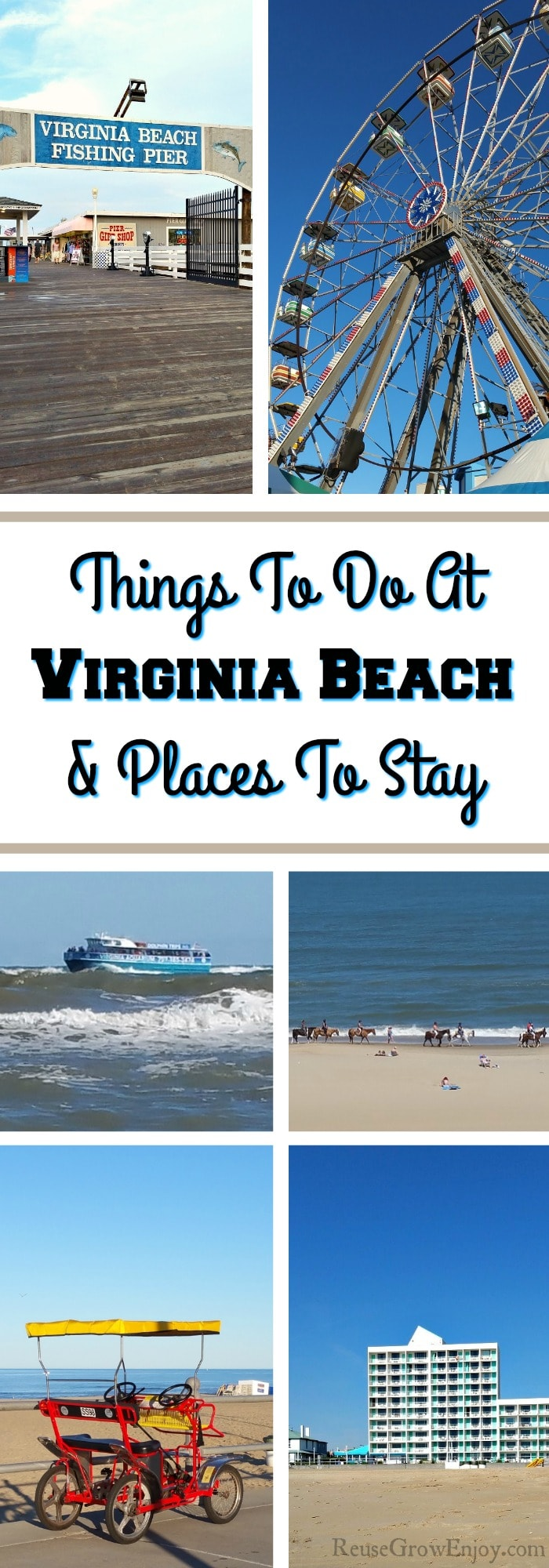 Headed to Virginia Beach? Check out these tips and ideas for things to do at Virginia Beach and places to stay. Each place we have tried, stayed or visited ourselves so you will only get honest thoughts.