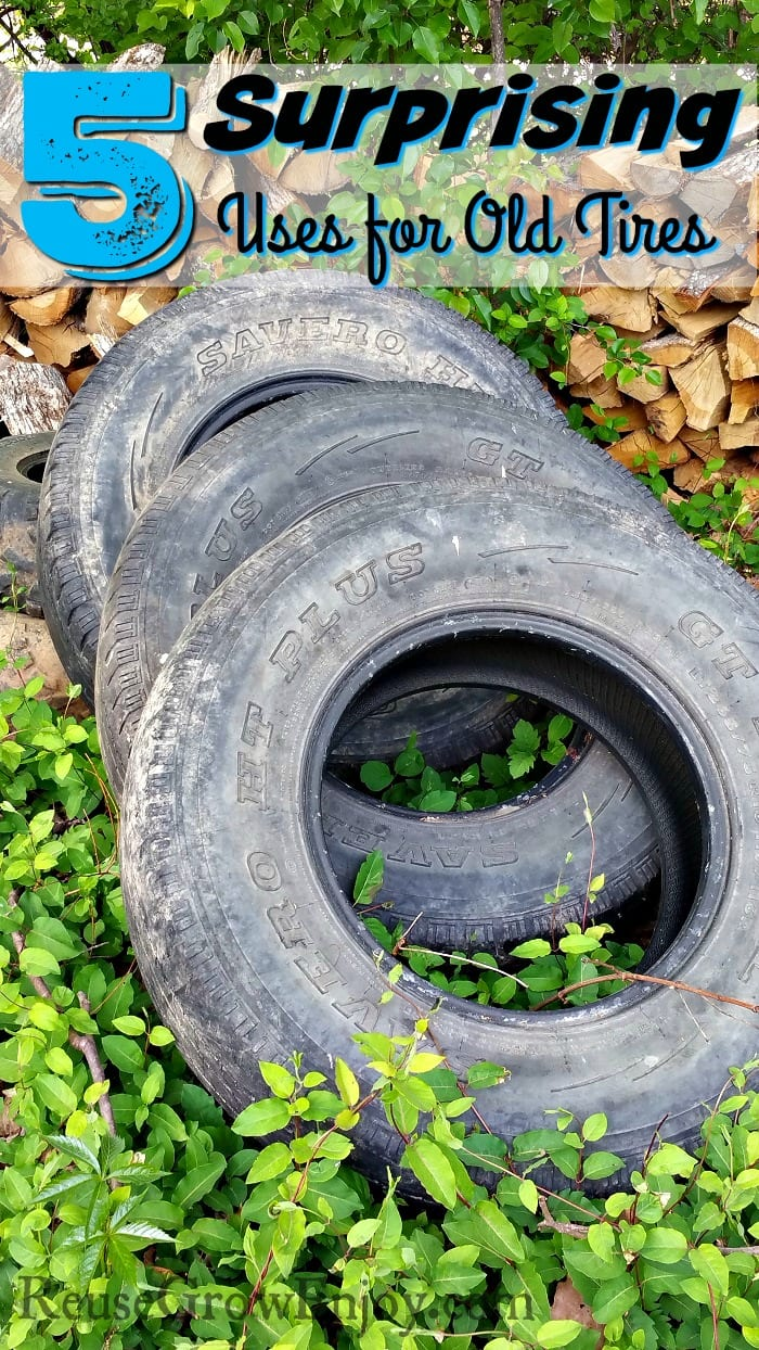 Tire uses 5 surprising uses for old tires reuse grow enjoy for What can you make out of old tires