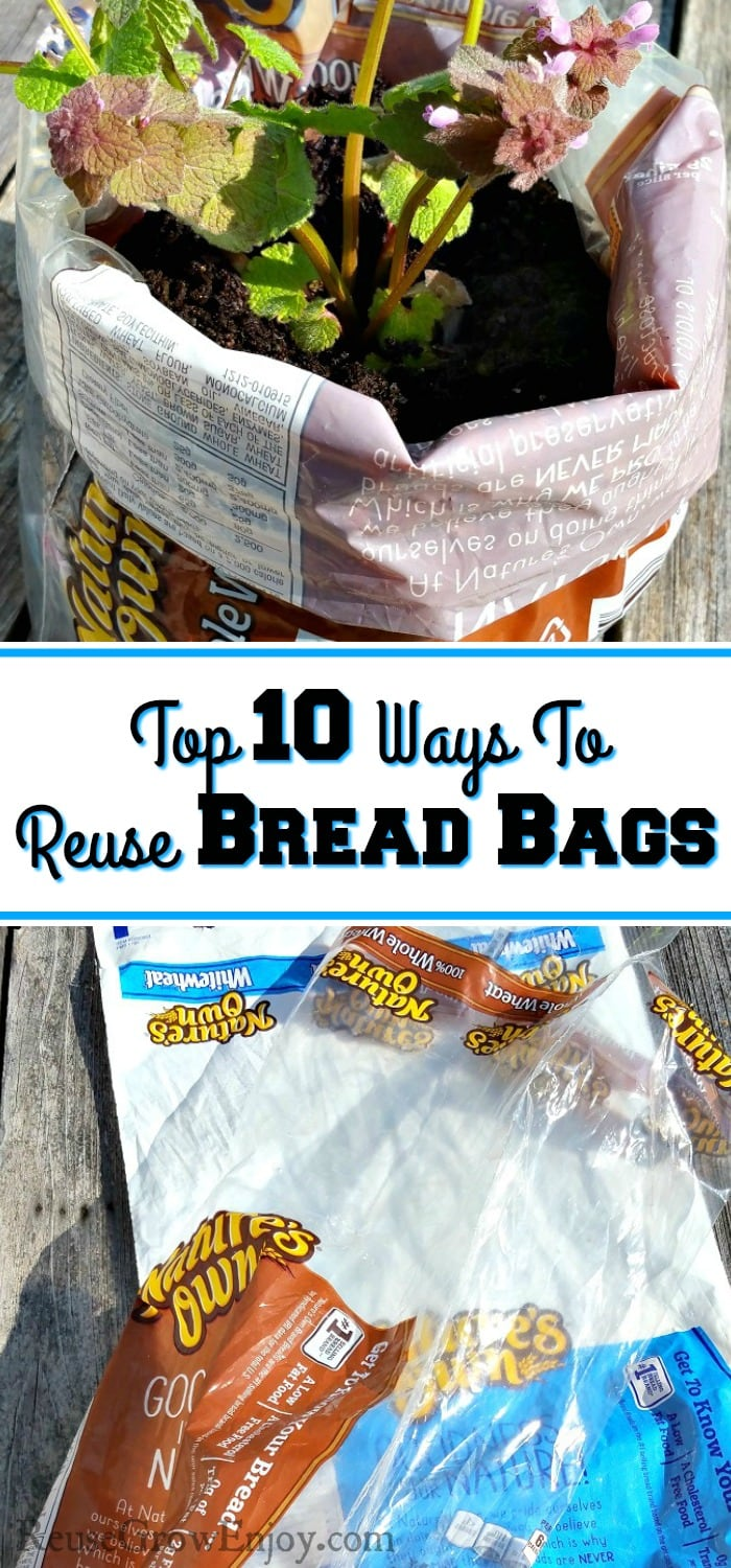 Looking for ways that you can reuse your bread bags? I am going to share with you the top ten ideas that are a great way to reuse a bread bag.