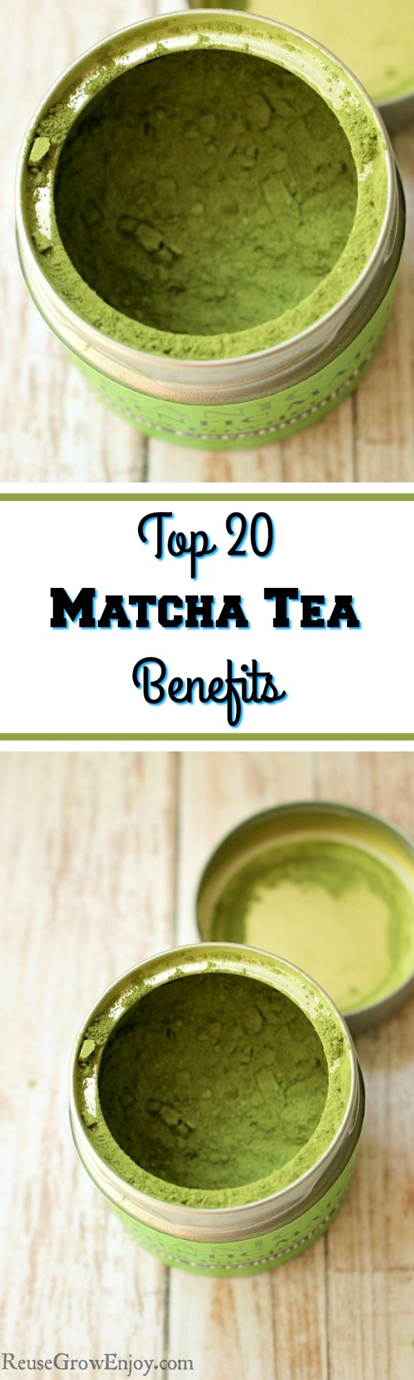 Do you use Matcha Tea? It is good for you in so many ways. Check out these Top 20 Matcha Tea Benefits!
