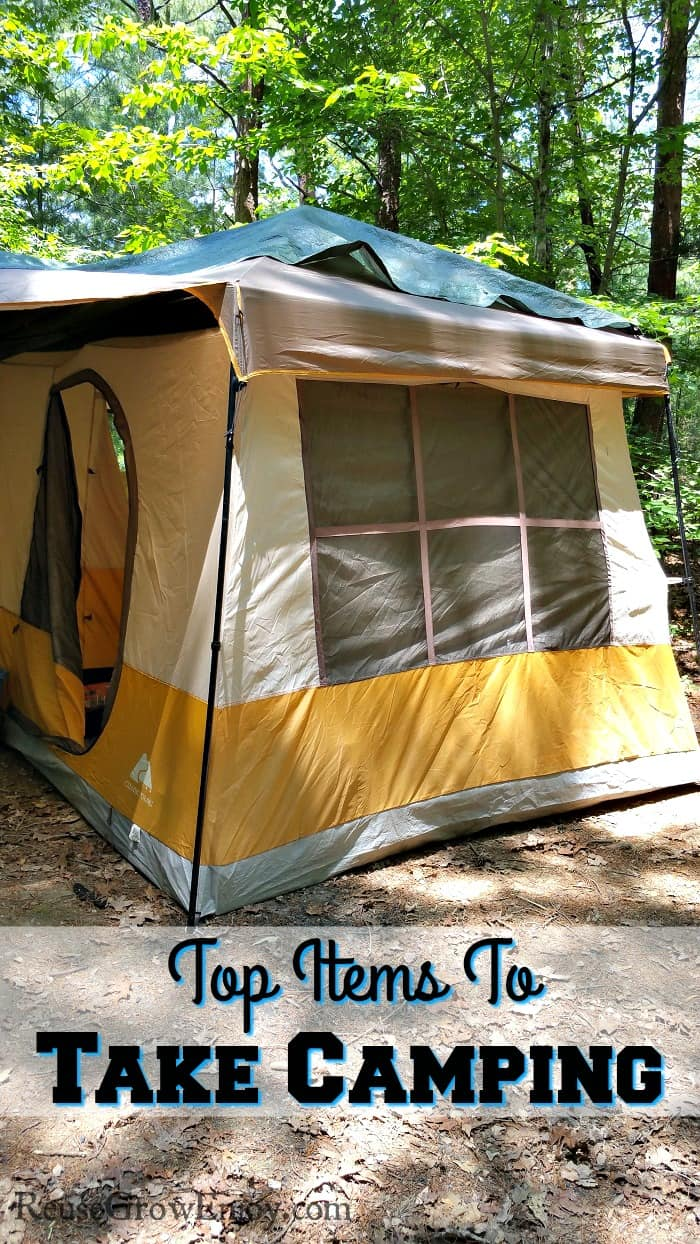 Going on a camping trip? You may want to check out these top items to take camping.
