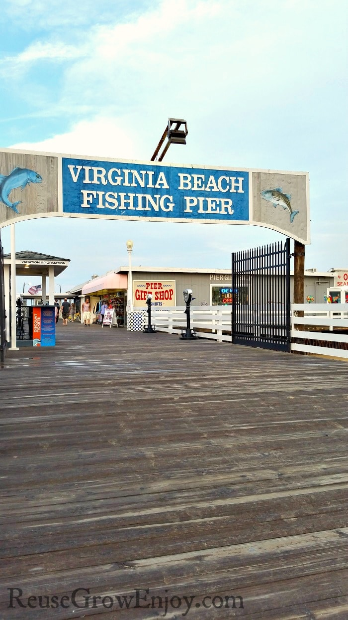 If you are thinking about making a trip to Virginia Beach, you really should add Virginia Beach pier to your visit list. It has a lot to offer and it is not all just fishing either.
