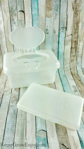 Ways To Reuse Baby Wipe Containers