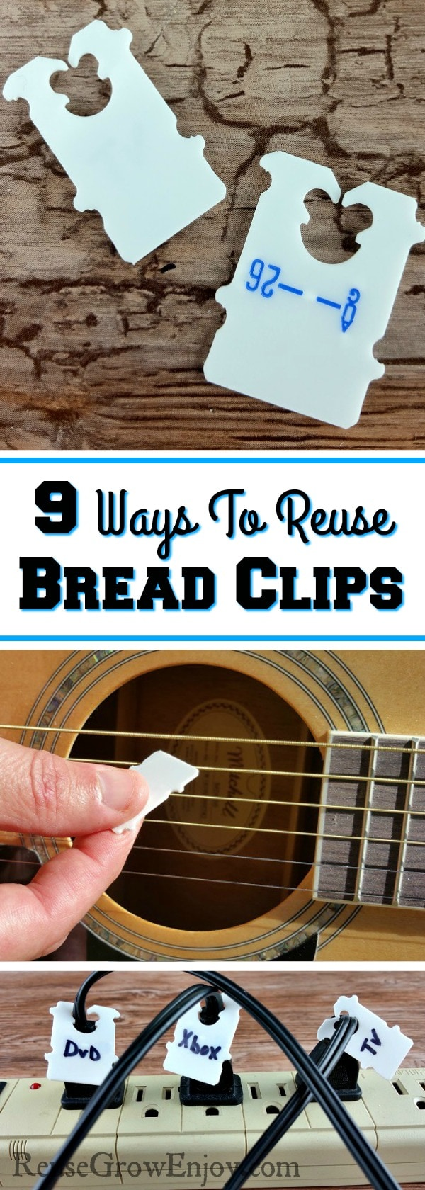 Bread clips is one of those things most just toss in the trash. Check out these 9 Ways To Reuse Bread Clips and you will never toss them out again!