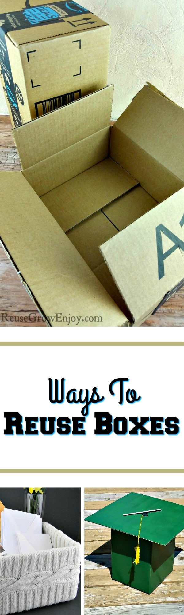 Have a bunch of boxes and not sure what to do with them? I am going to share some awesome ways that you can recycle boxes right at home!
