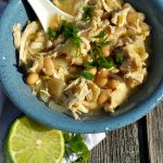 If you love to cook in your slow cooker, this is a must try recipe. It is a recipe for slow cooker white chicken chili. If your family loves it as much as mine, there will not be any leftovers!