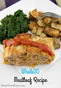 Whole30 Meatloaf Recipe Also Paleo
