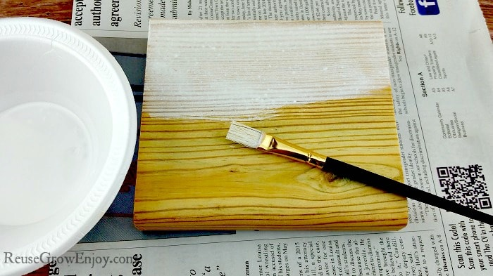 Wood Craft White Wash